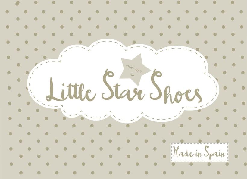 Diseño de Logotipo Little Star Shoes -1