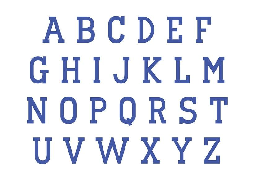Tipografia Colin | Colin Font 0
