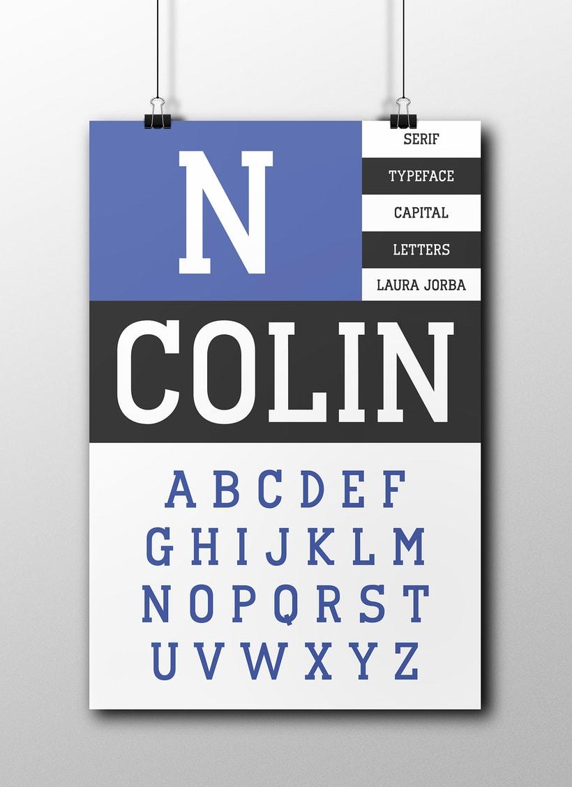 Tipografia Colin | Colin Font 1