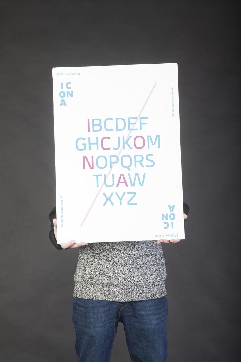Campaña  ICONA typeface 2
