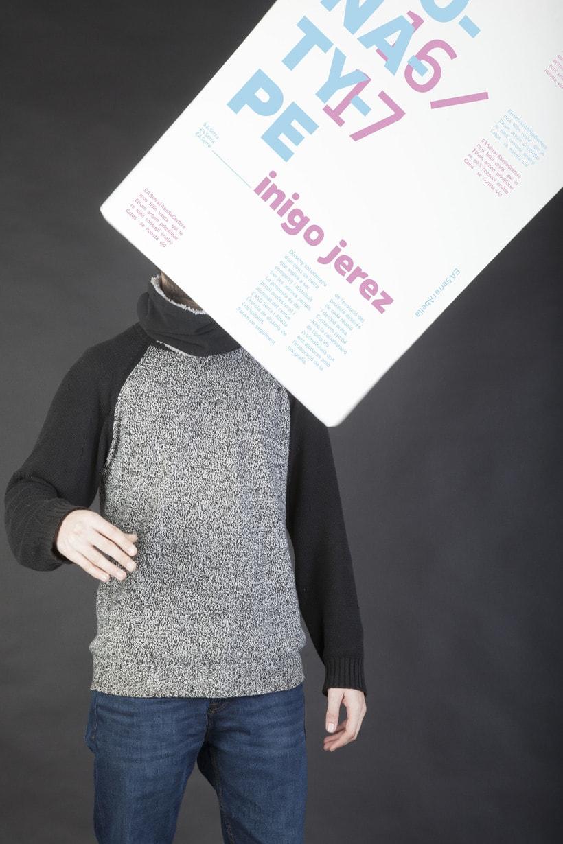 Campaña  ICONA typeface 4