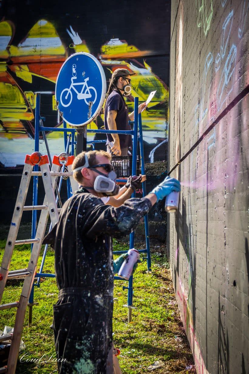 28/10/2017 Most Wanted Fest 2017, la fiesta del graffiti de Gijón - Asturias 9