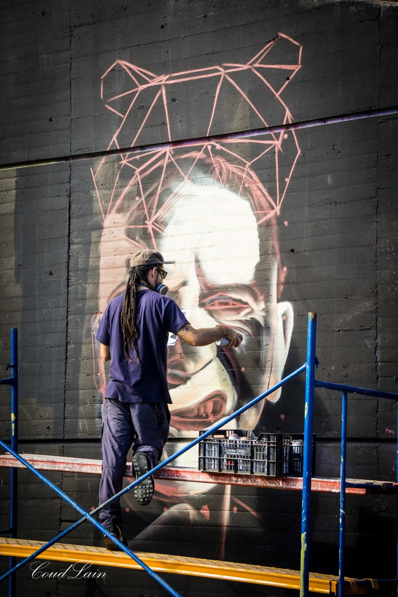 28/10/2017 Most Wanted Fest 2017, la fiesta del graffiti de Gijón - Asturias 12