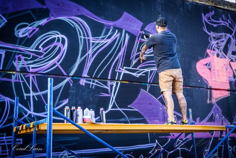 28/10/2017 Most Wanted Fest 2017, la fiesta del graffiti de Gijón - Asturias 13
