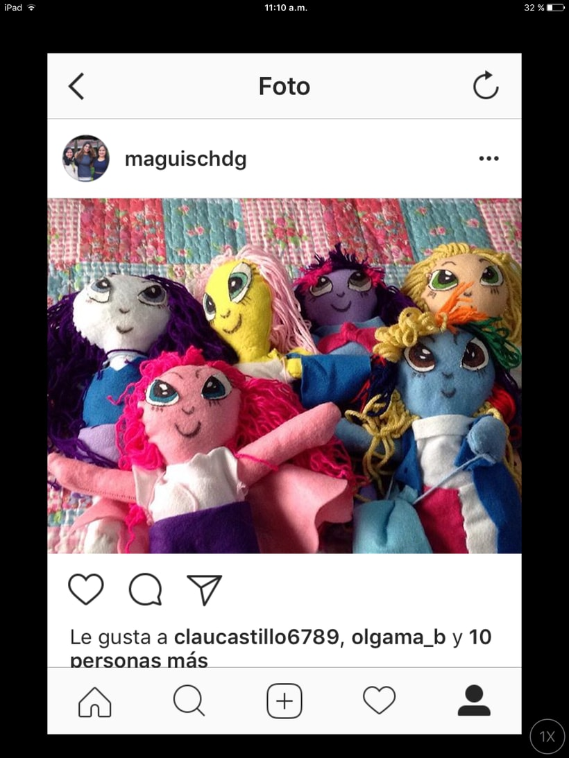 Muñecas artesanales -1
