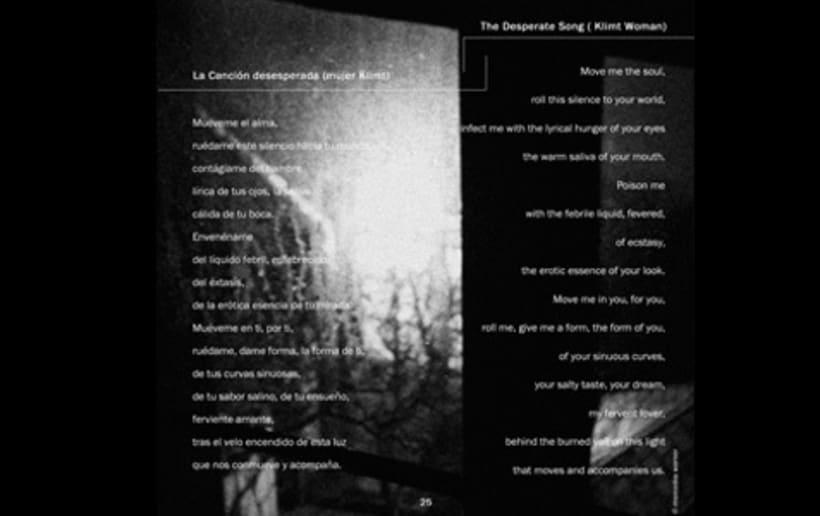 Diseño de e-book de poesía: Poemas en el otro lado 2