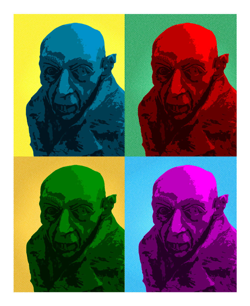 Nosferatu pop art -1