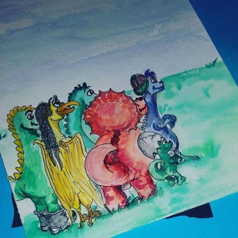 """Ilustrando Cuento """"Elegir para soñar"""" de Antonio de Benito 0"""