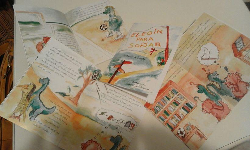 """Ilustrando Cuento """"Elegir para soñar"""" de Antonio de Benito 2"""