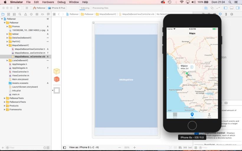Mi Proyecto del curso: Programación de apps para iPhone 2