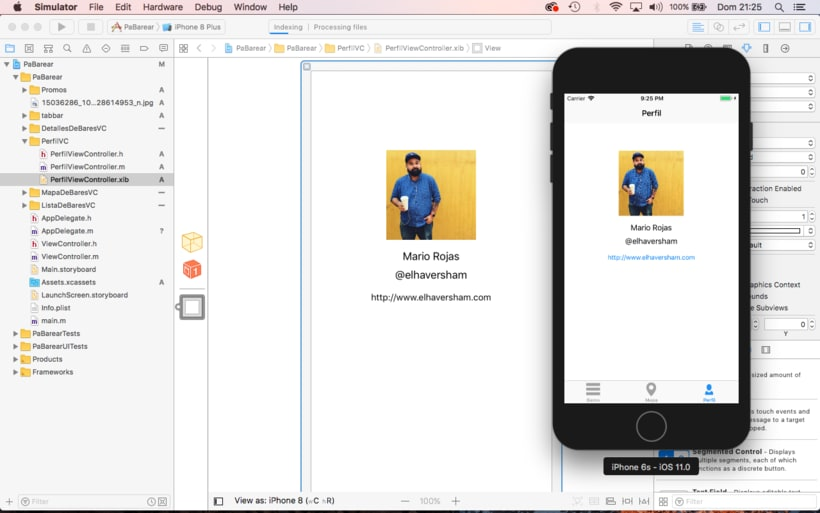 Mi Proyecto del curso: Programación de apps para iPhone 3