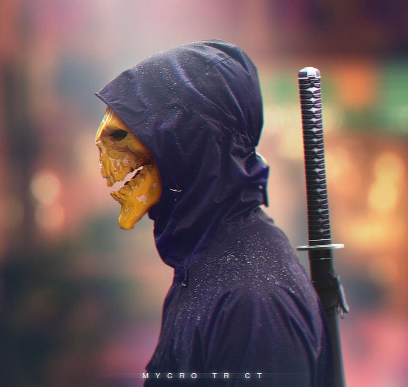 Ninja Skull -1