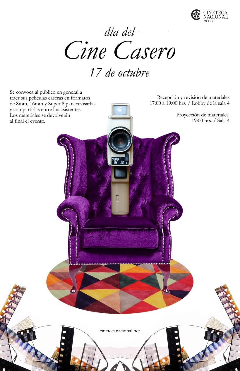 Cartel de Cine Casero -1