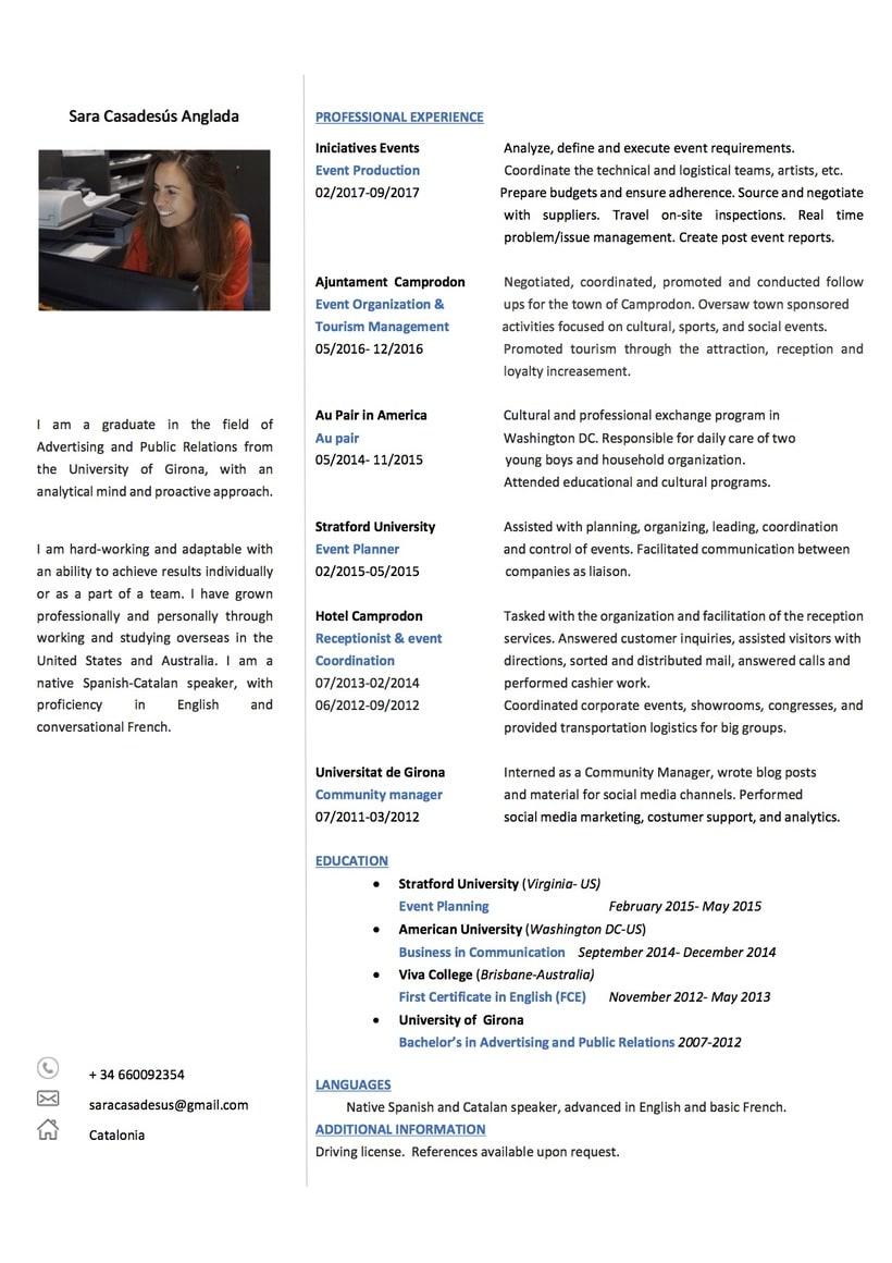 Currículum Vitae -1