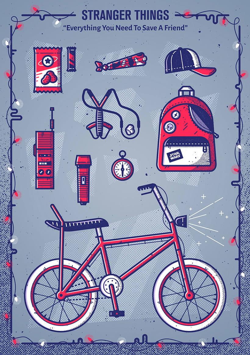 15 diseños que homenajean a Stranger Things 4