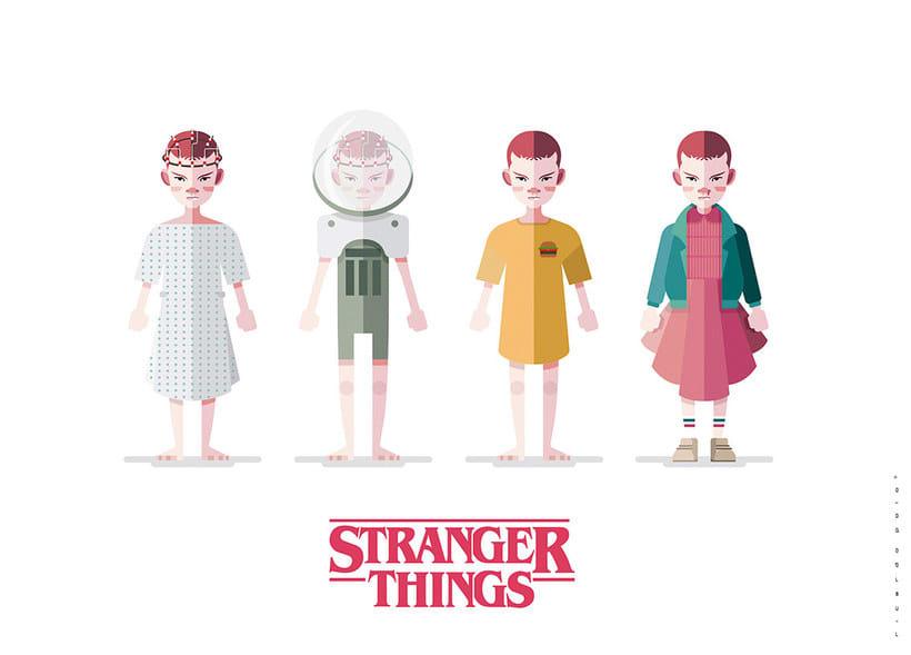 15 diseños que homenajean a Stranger Things 6
