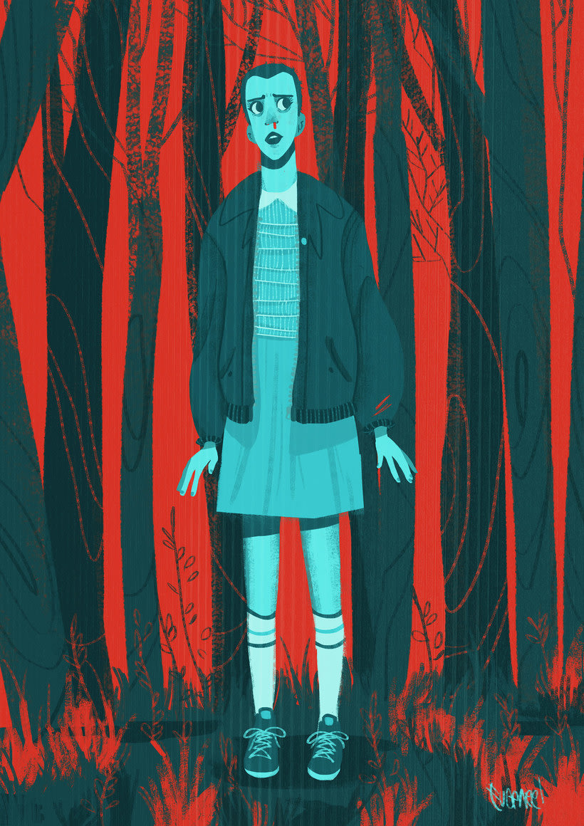 15 diseños que homenajean a Stranger Things 16