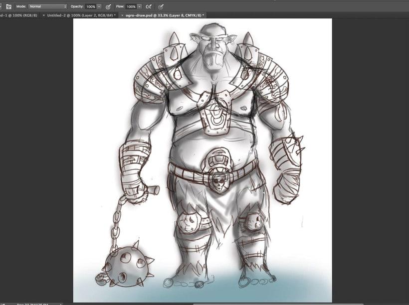 Ogro - Personaje 4