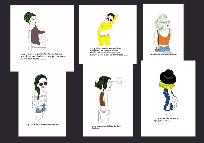 Ilustradora busca trabajo 1