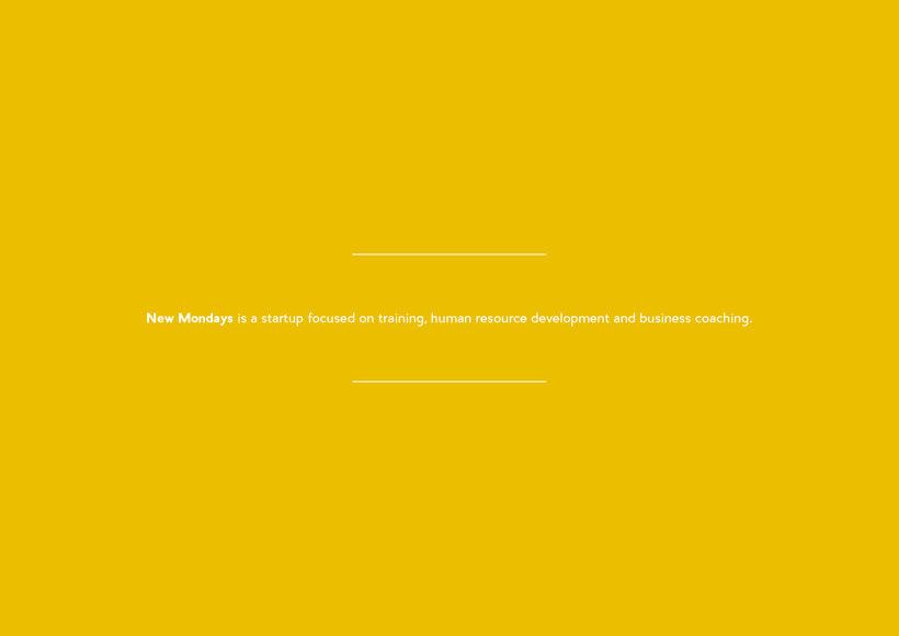 Branding e Identidad | New Mondays  2