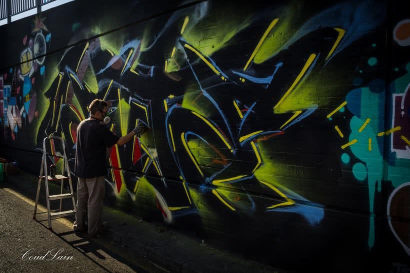 29/10/2017 Most Wanted Fest 2017, la fiesta del graffiti de Gijón - Asturias 1