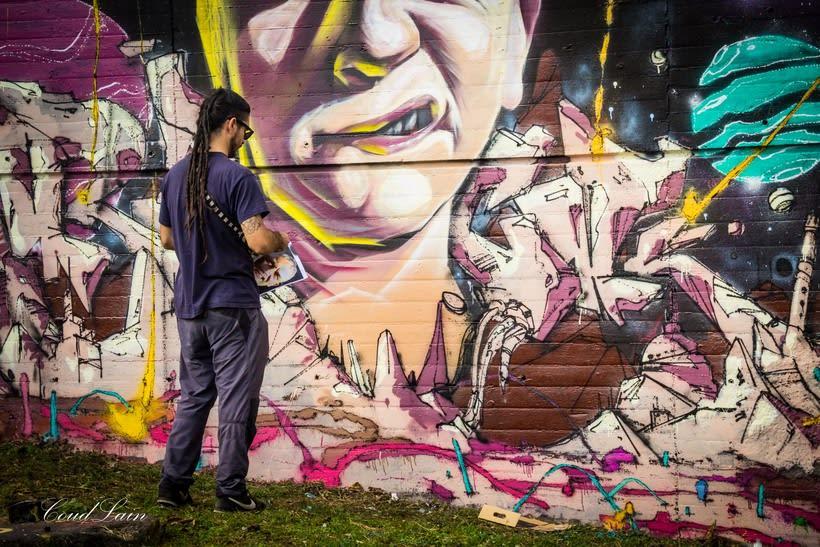 29/10/2017 Most Wanted Fest 2017, la fiesta del graffiti de Gijón - Asturias 9