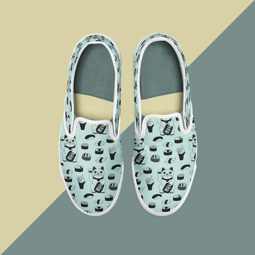Zapatillas Sushicat! -1