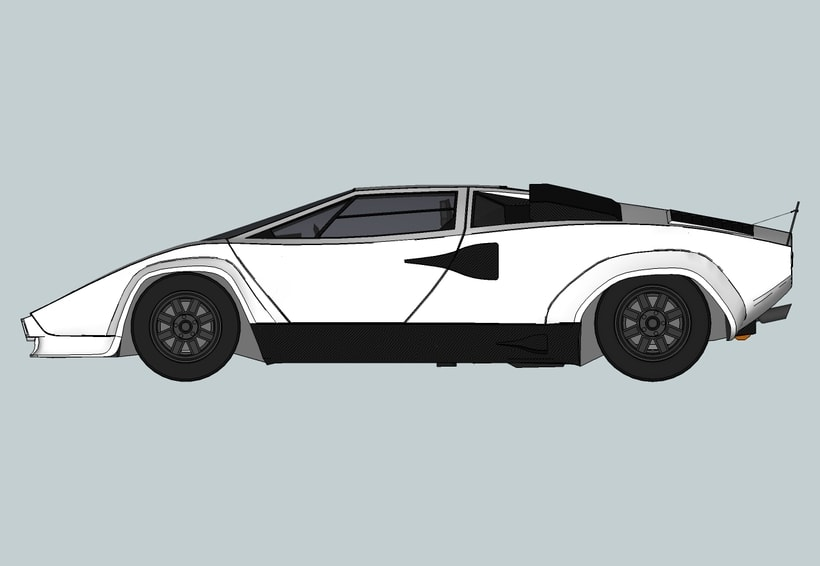 "Lamborghini Countach ""SpeedHunter"" (Render) -1"