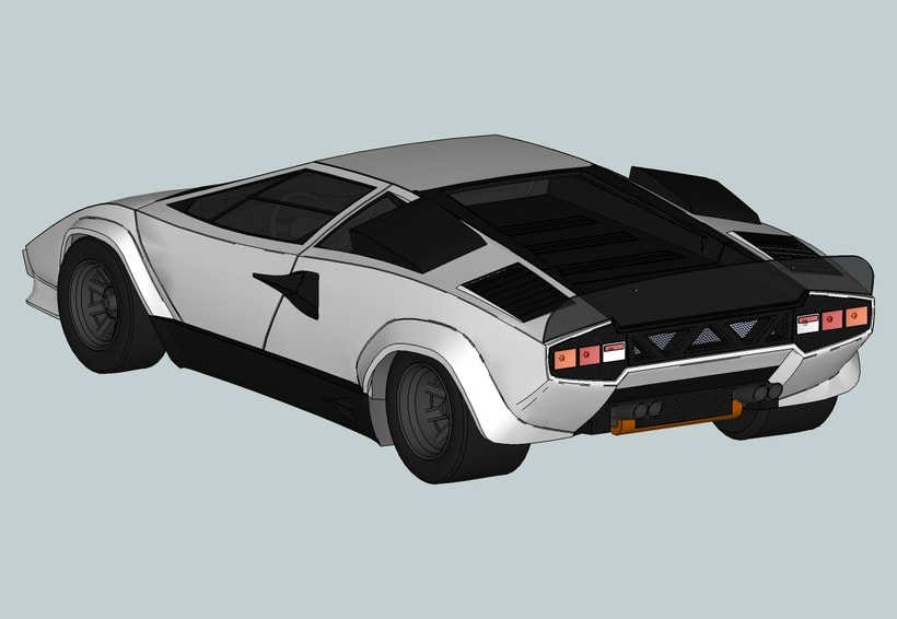 "Lamborghini Countach ""SpeedHunter"" (Render) 0"