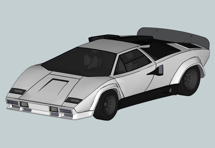 "Lamborghini Countach ""SpeedHunter"" (Render) 1"