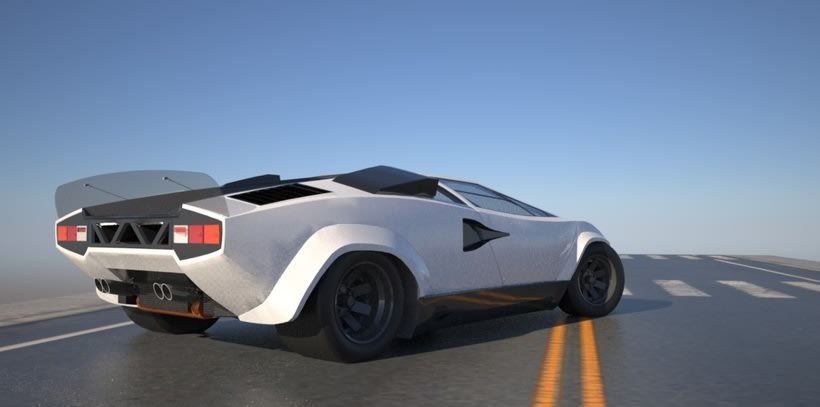 "Lamborghini Countach ""SpeedHunter"" (Render) 2"