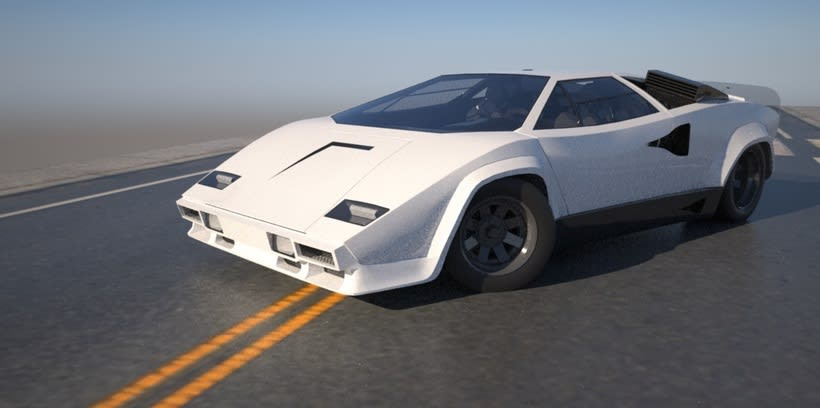 "Lamborghini Countach ""SpeedHunter"" (Render) 3"