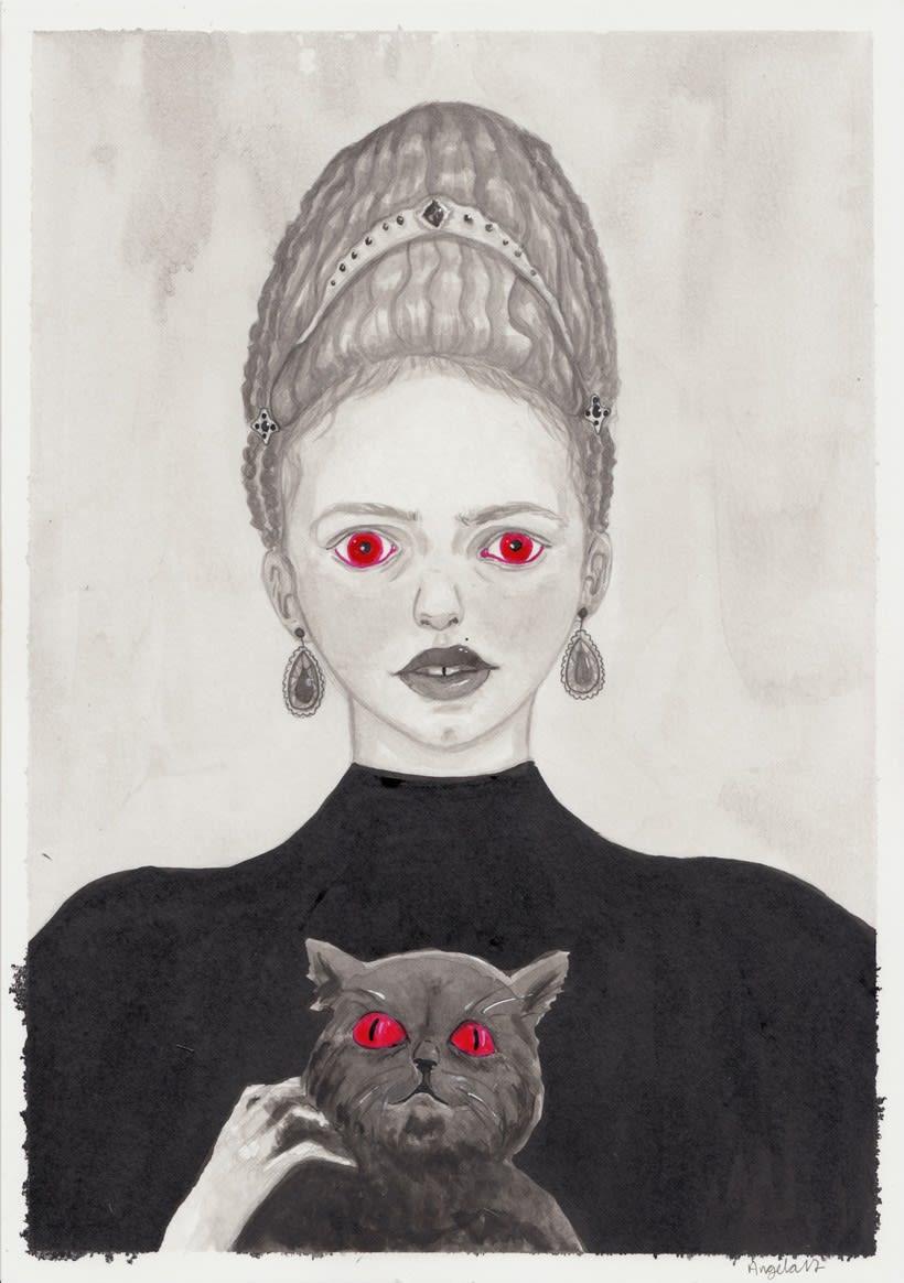 Mi aportación al fanzine Season of the Witch de The Ayeayes -1