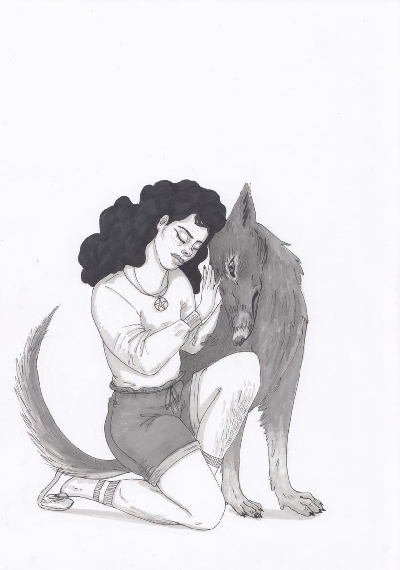 Mi aportación al fanzine Season of the Witch de The Ayeayes 0
