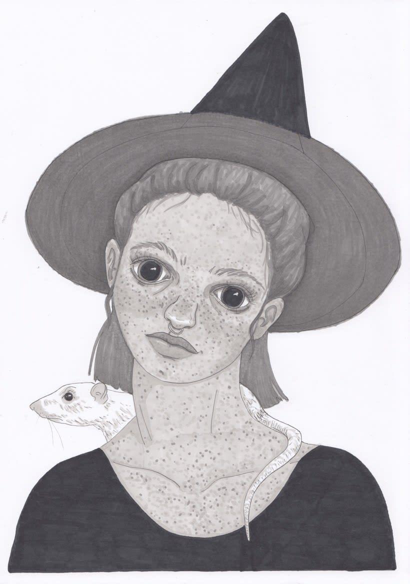 Mi aportación al fanzine Season of the Witch de The Ayeayes 1