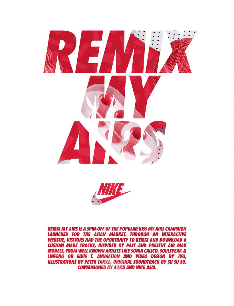 Nike: Remix My Airs 0