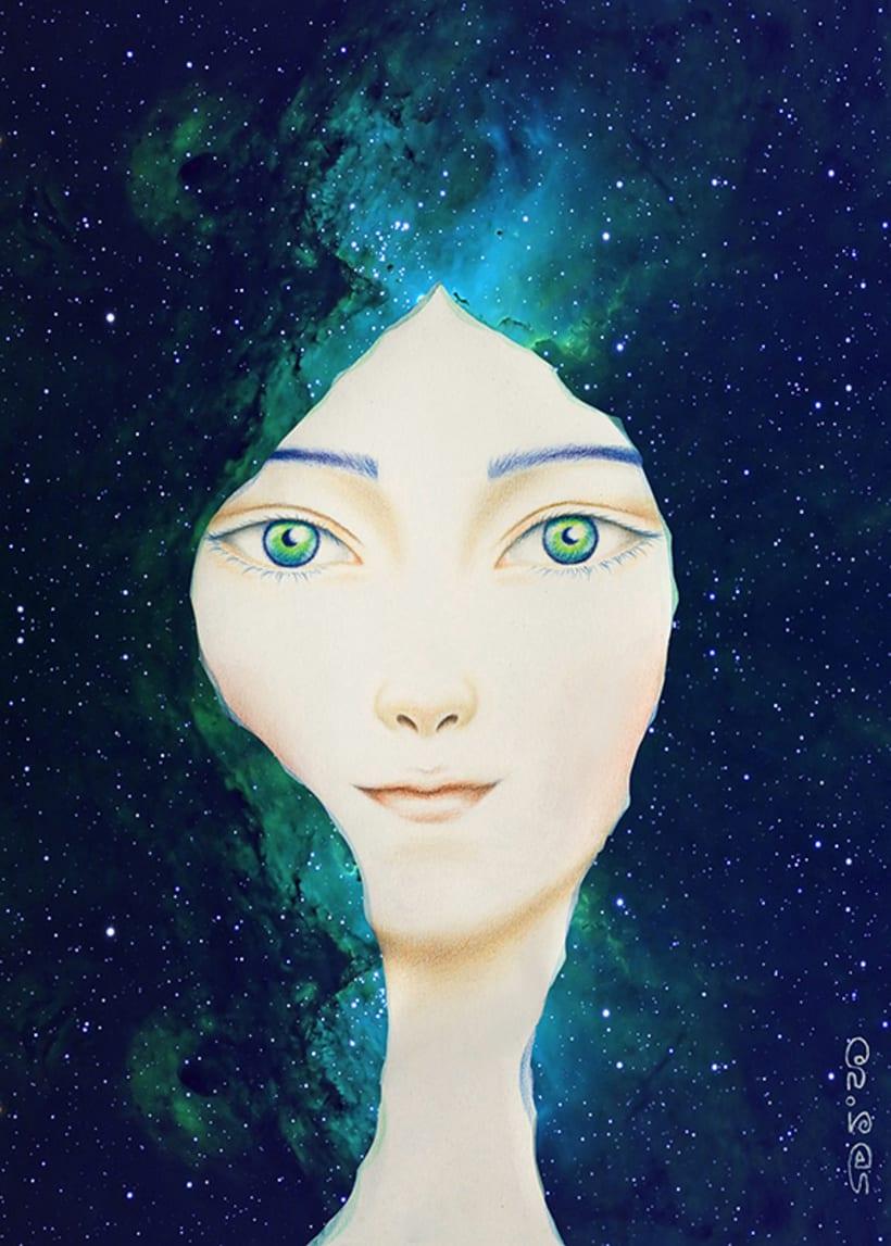 Chica de las estrellas  0