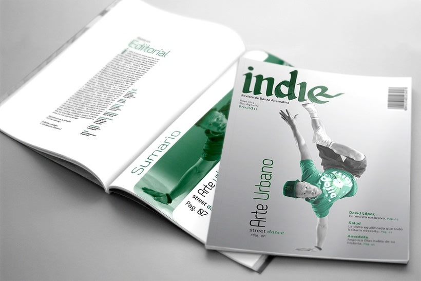 Indie, Revista de danza alternativa 0