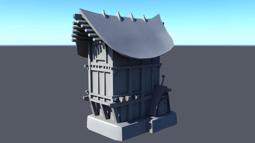 Casa Rustica 3D -1
