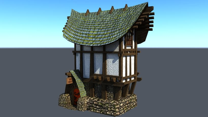 Casa Rustica 3D 0