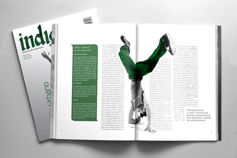Indie, Revista de danza alternativa 3