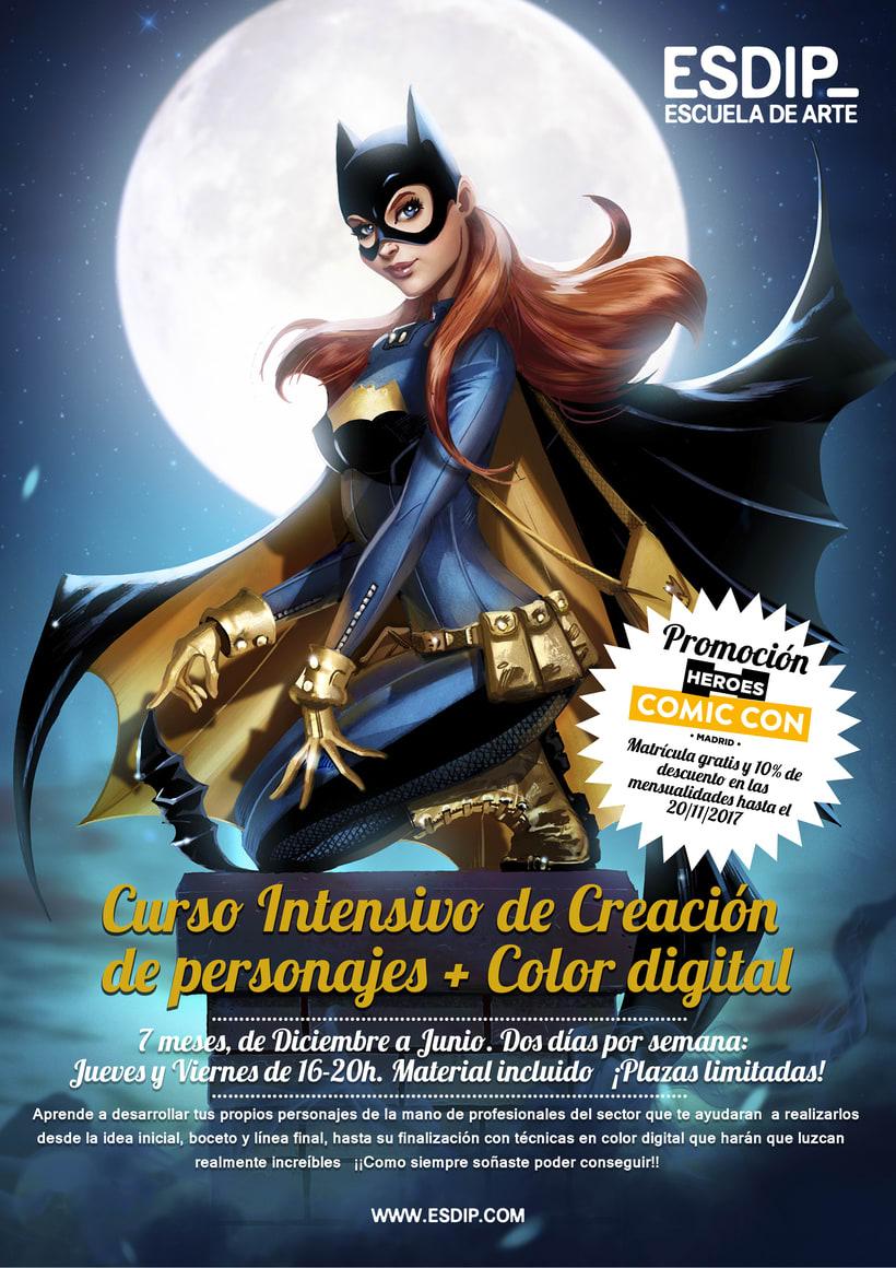 Intensivo de Creación de Personajes y Color Digital 1