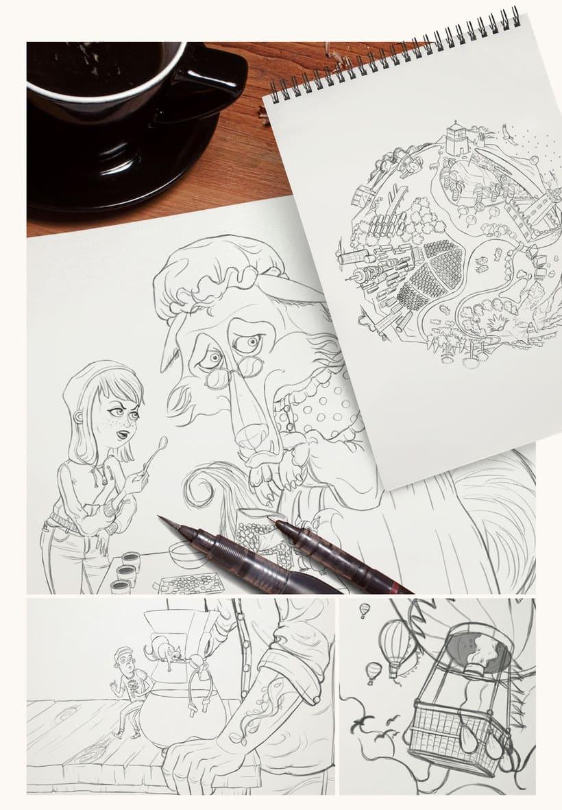 Las ilustraciones de cuento de Sergio Edwards 3