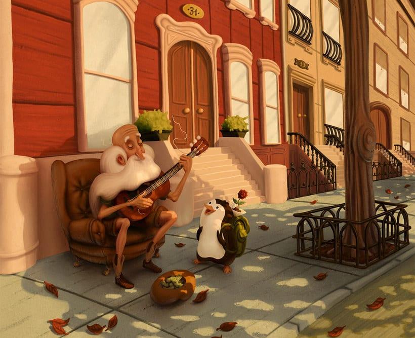 Las ilustraciones de cuento de Sergio Edwards 12