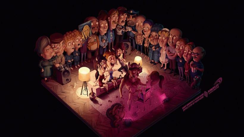 Las ilustraciones de cuento de Sergio Edwards 13