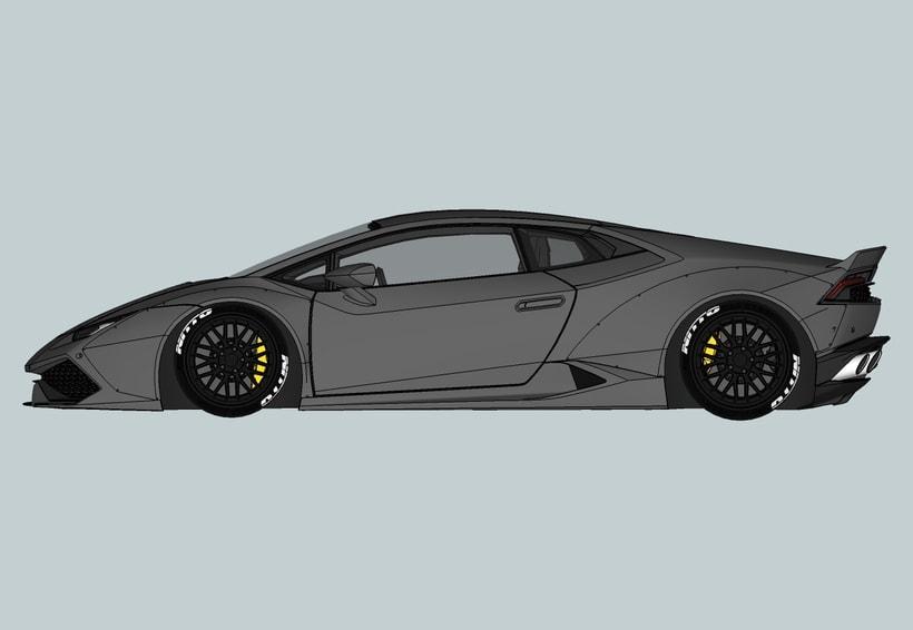Lamborghini Huracan LB -1