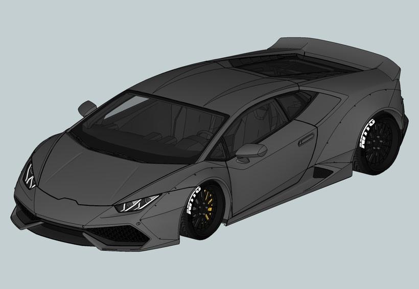 Lamborghini Huracan LB 0