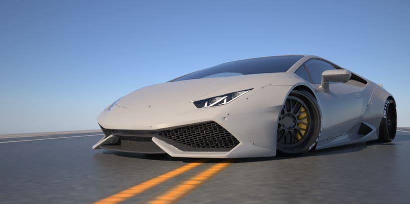Lamborghini Huracan LB 2