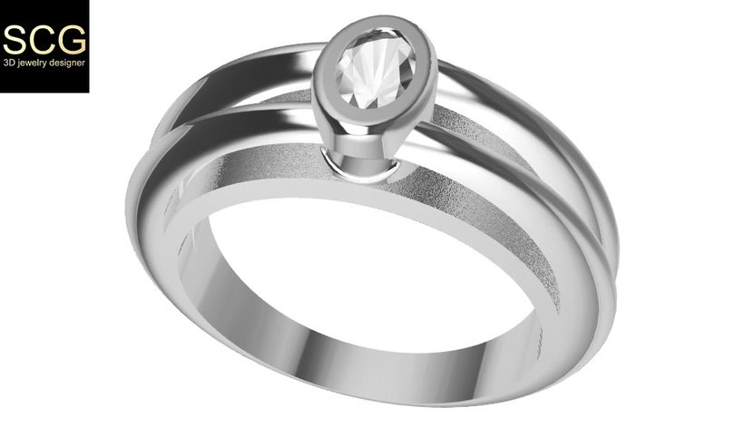 A different ring with a special shape 2