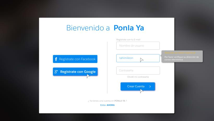 Diseño web para pagina de recarga de saldo 8